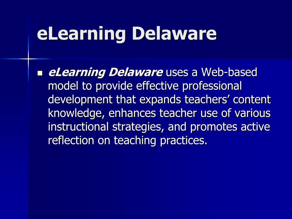 eLearning Delaware
