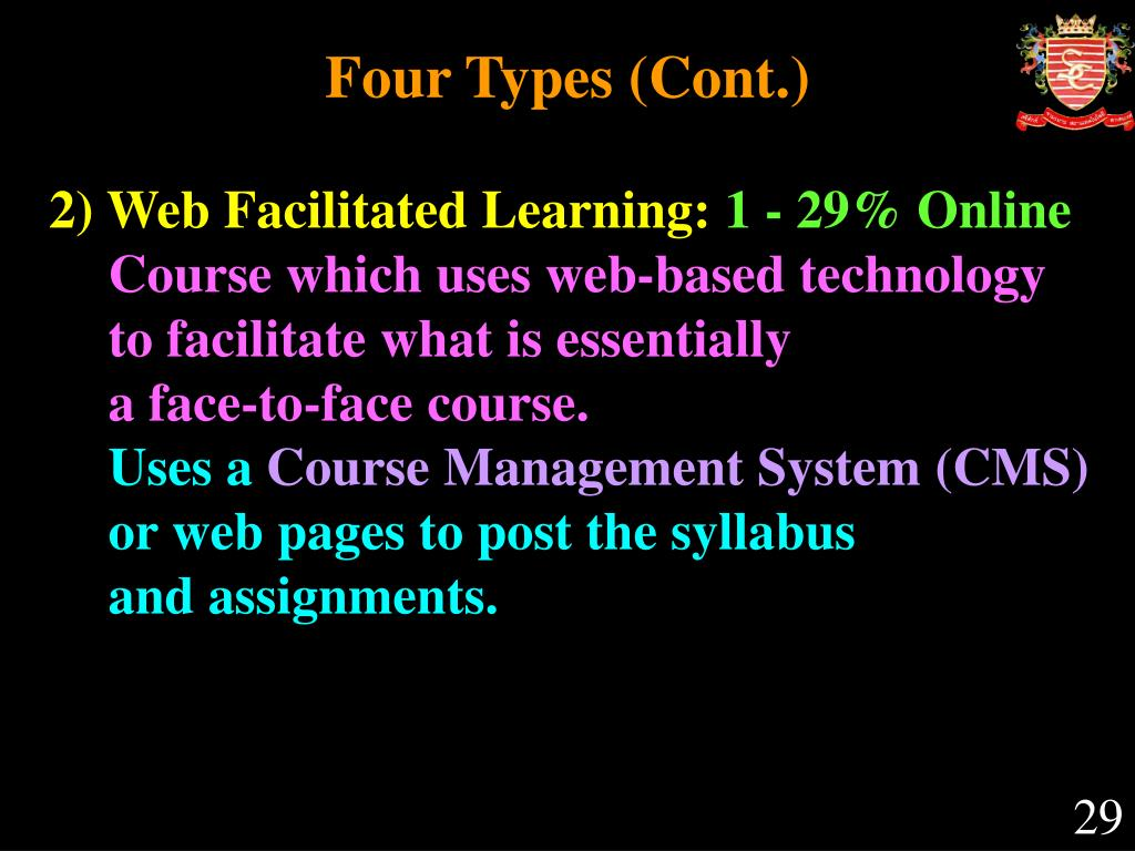 Four Types (Cont.)