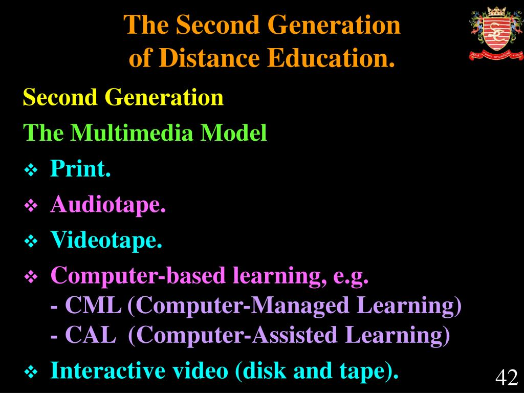 The Second Generation