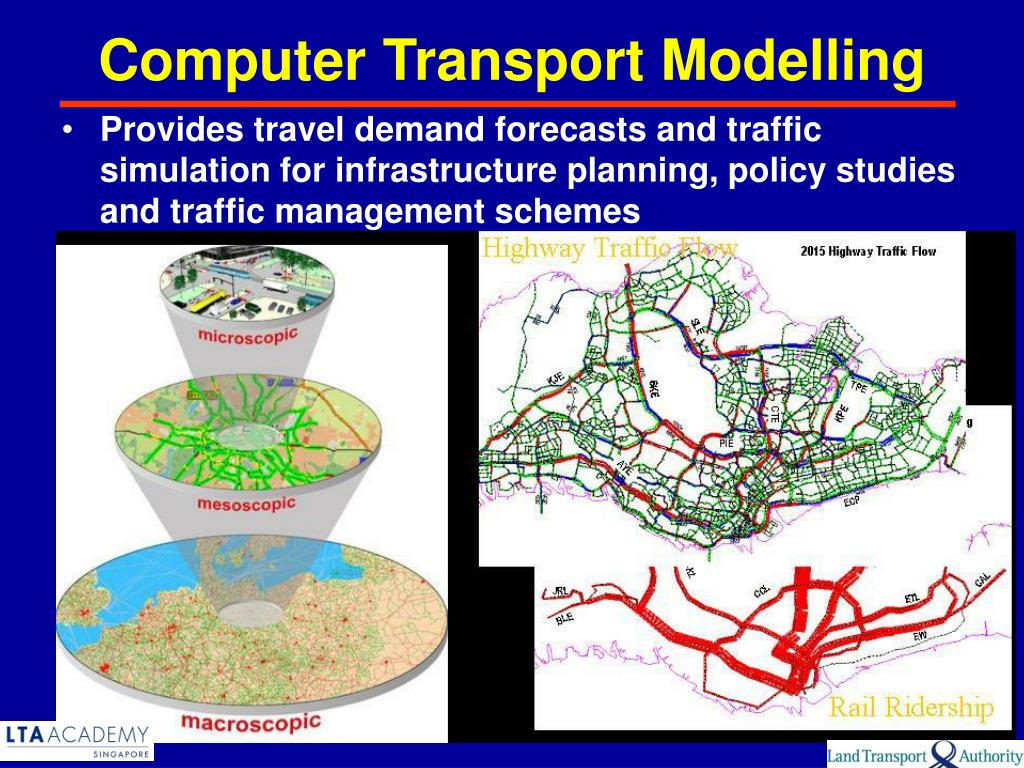 Computer Transport Modelling