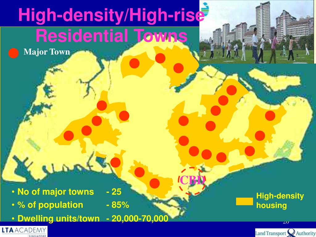 High-density/High-rise Residential Towns