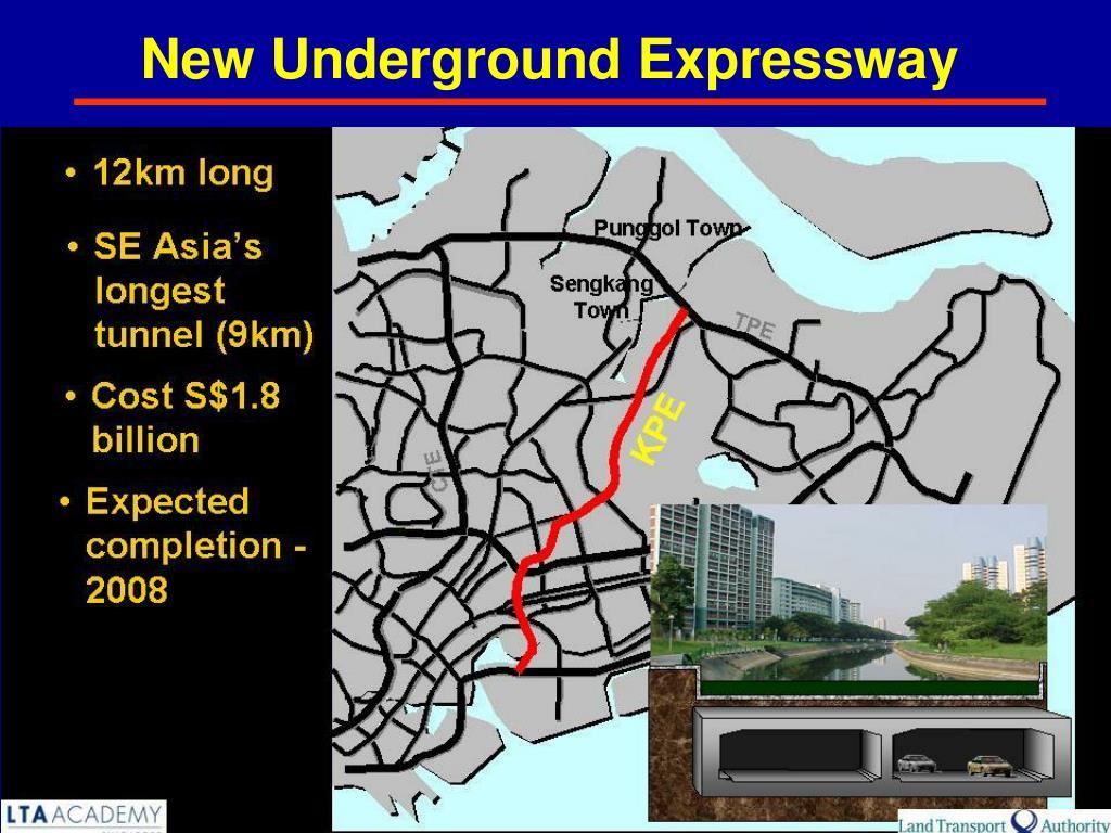 New Underground Expressway