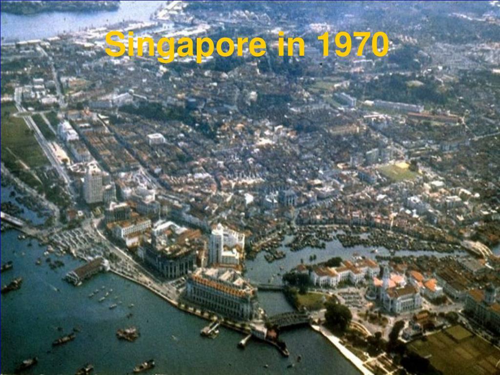 Singapore in 1970