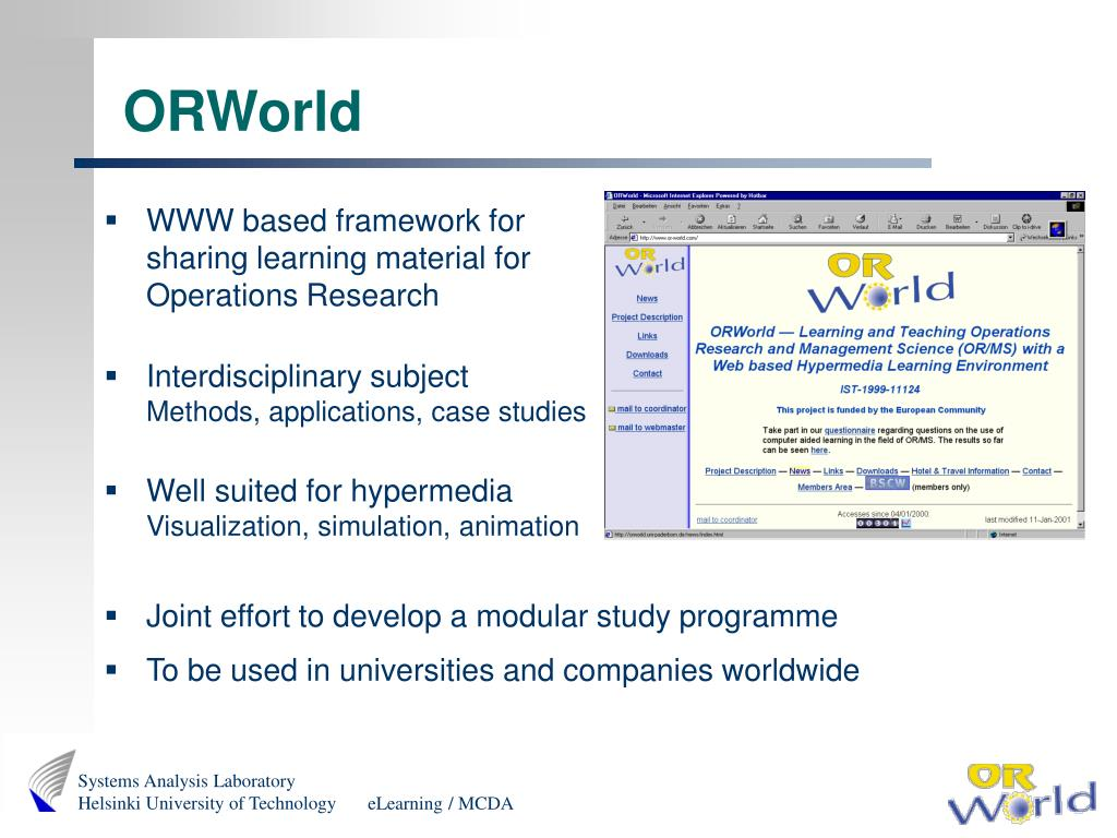 ORWorld