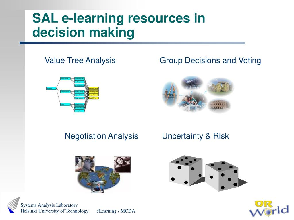 SAL e-learning resources in