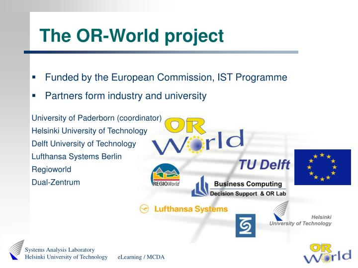 The or world project