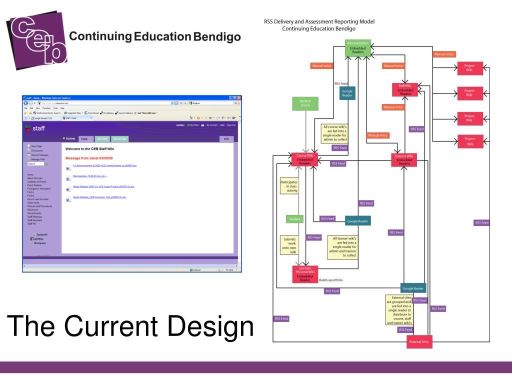 The Current Design