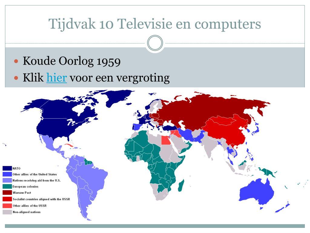 Tijdvak 10 Televisie en computers