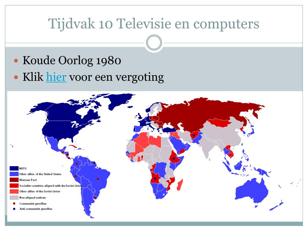 Tijdvak 10 Televisie en computers