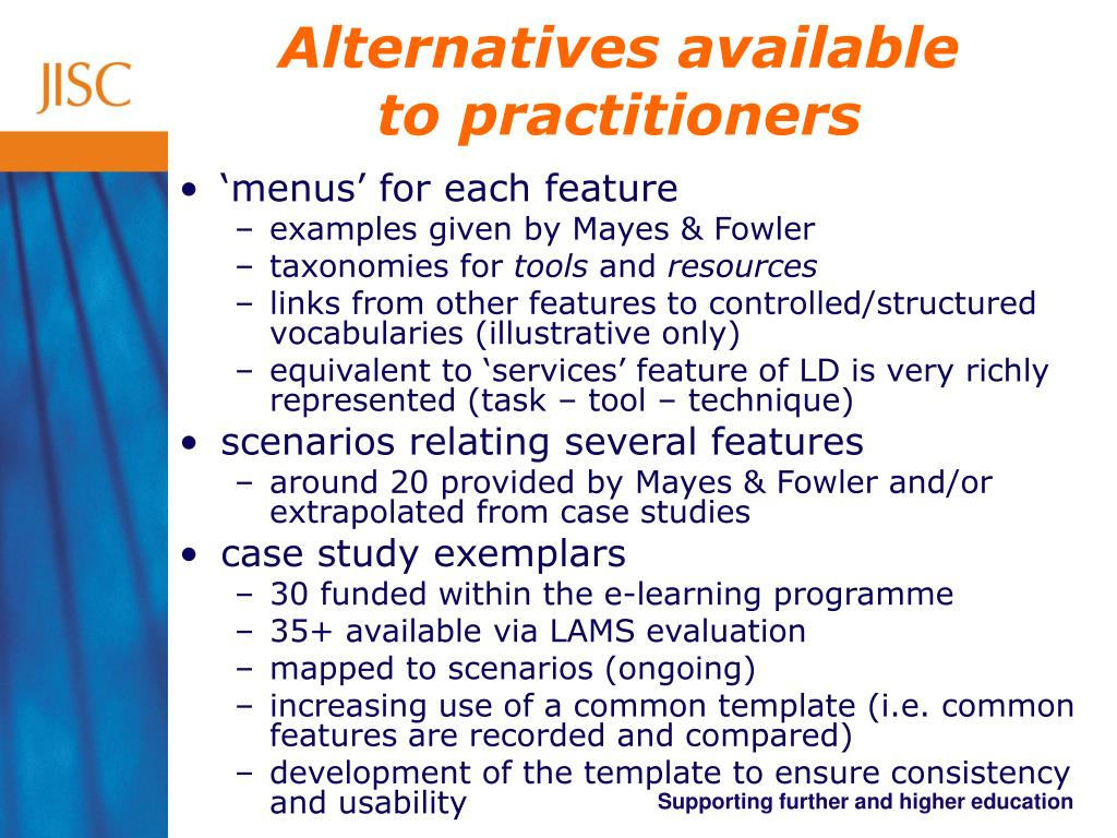 Alternatives available