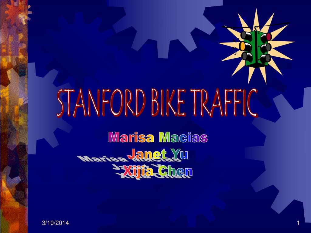 STANFORD BIKE TRAFFIC