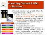 elearning content udl structure