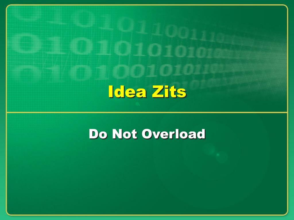 Idea Zits