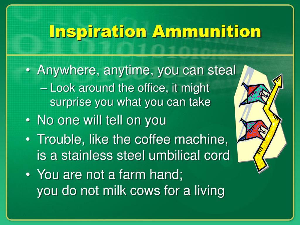 Inspiration Ammunition