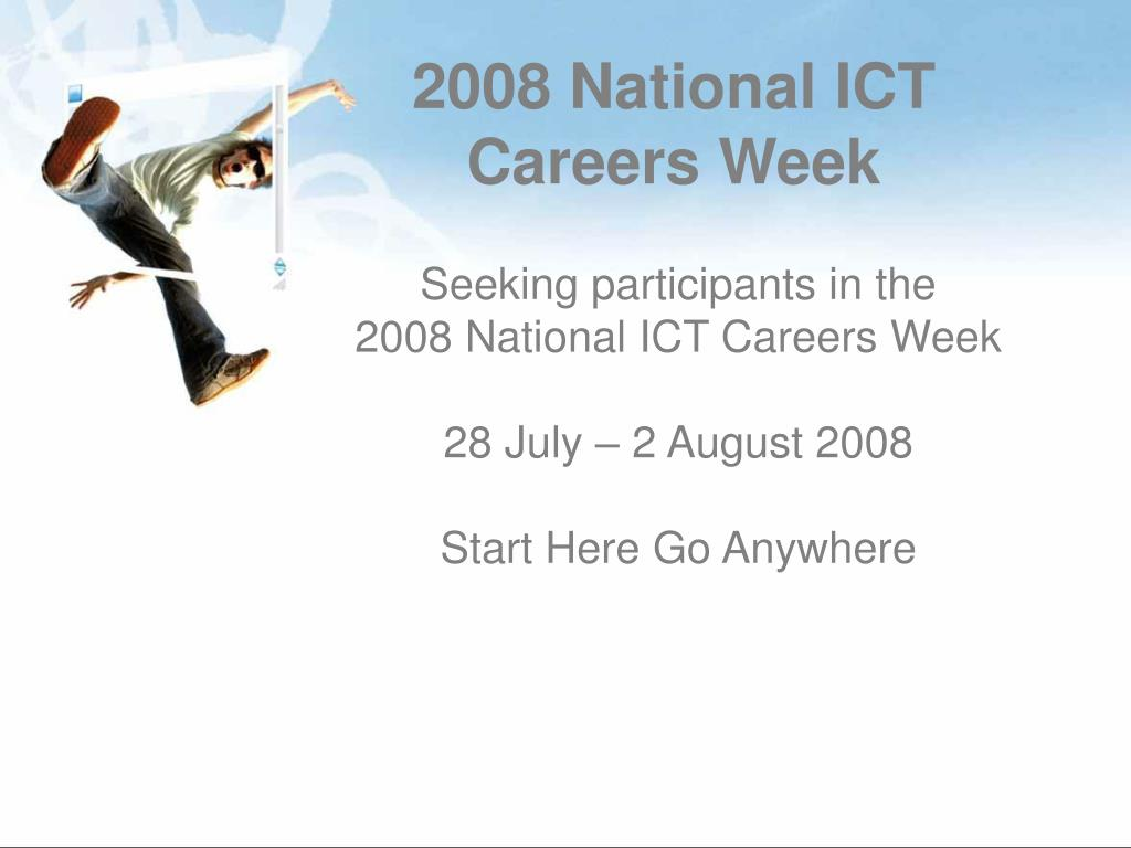 2008 National ICT Careers Week