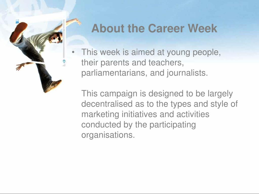 About the Career Week