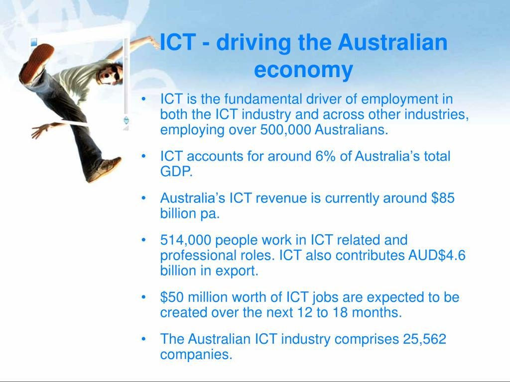 ICT - driving the Australian economy