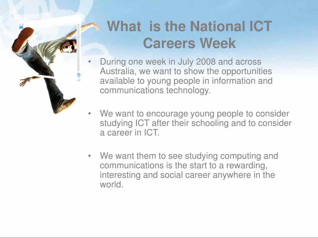 What  is the National ICT Careers Week