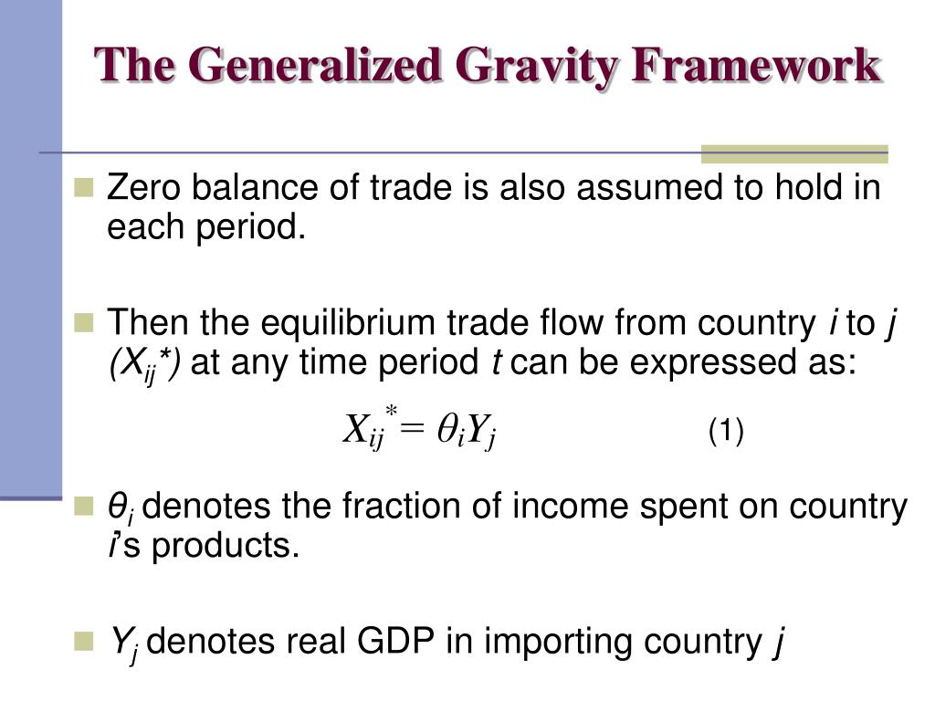 The Generalized Gravity Framework