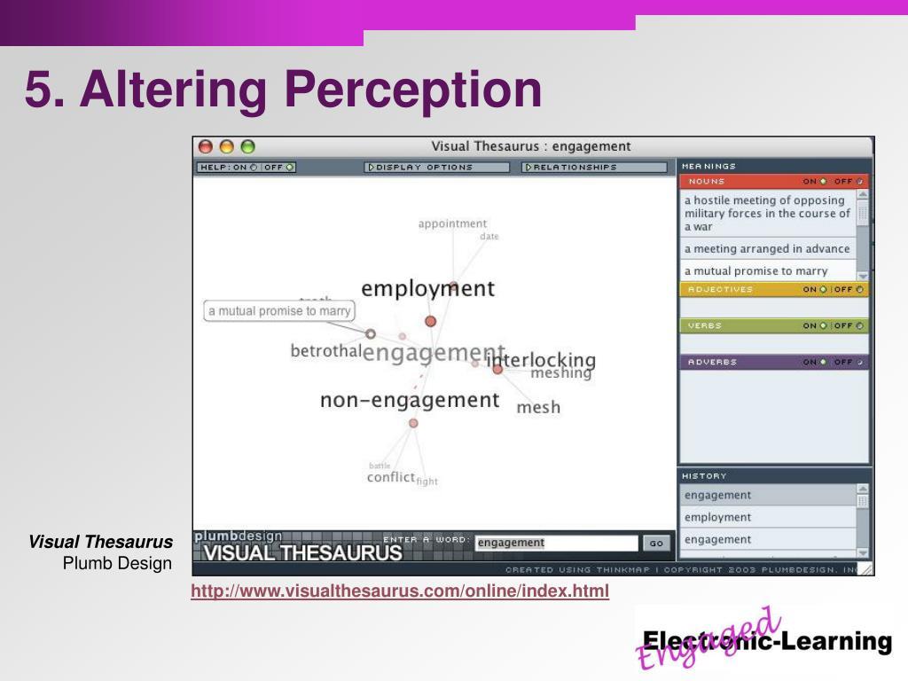 5. Altering Perception