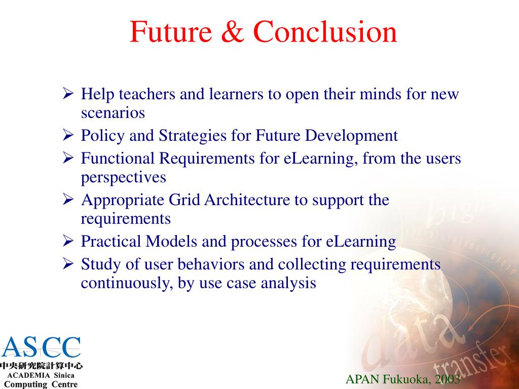 Future & Conclusion