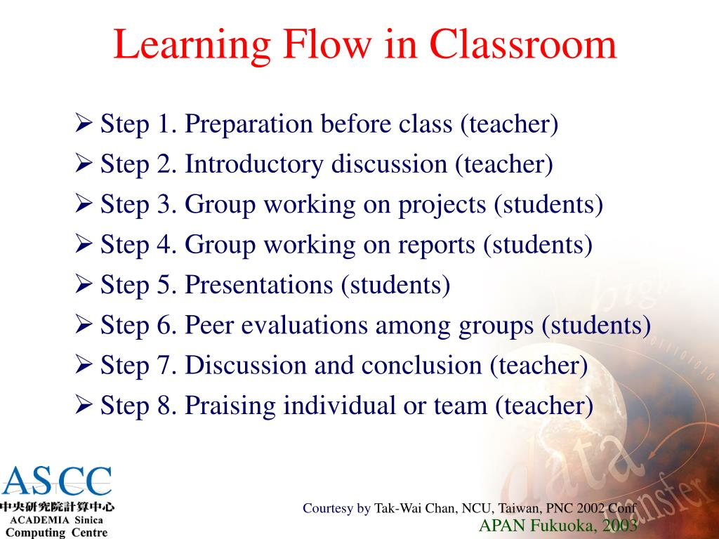 Learning Flow in Classroom