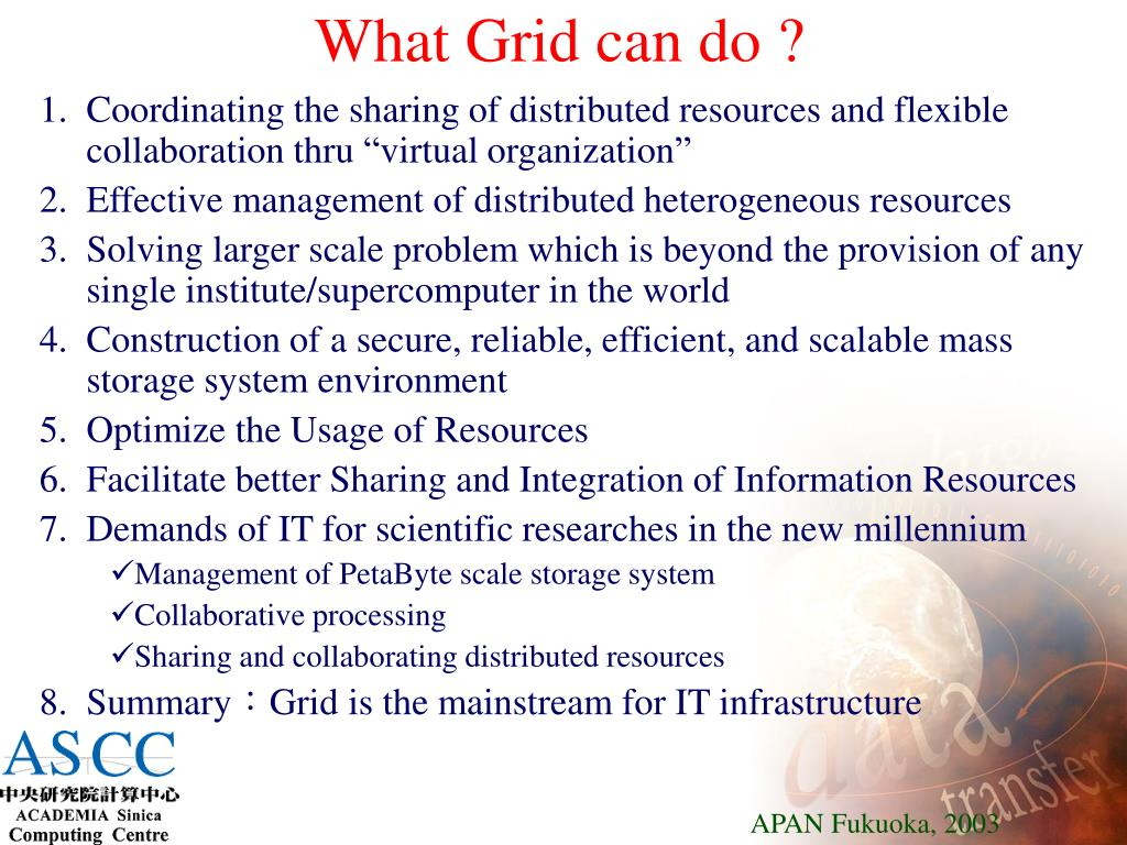 What Grid can do ?