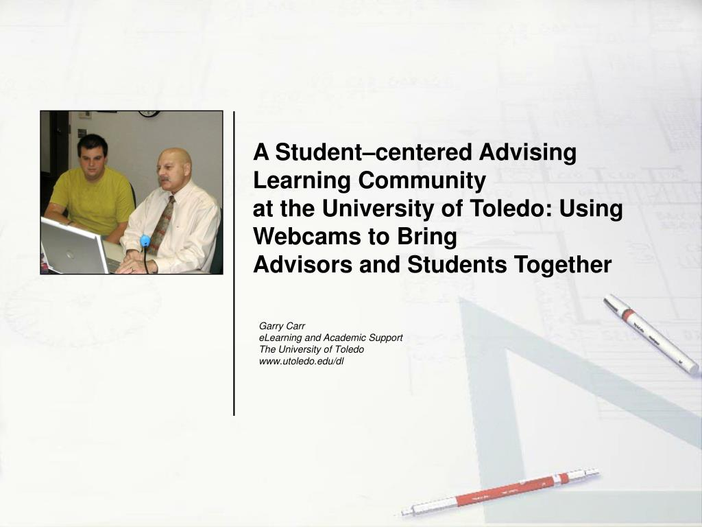 A Student–centered Advising Learning Community
