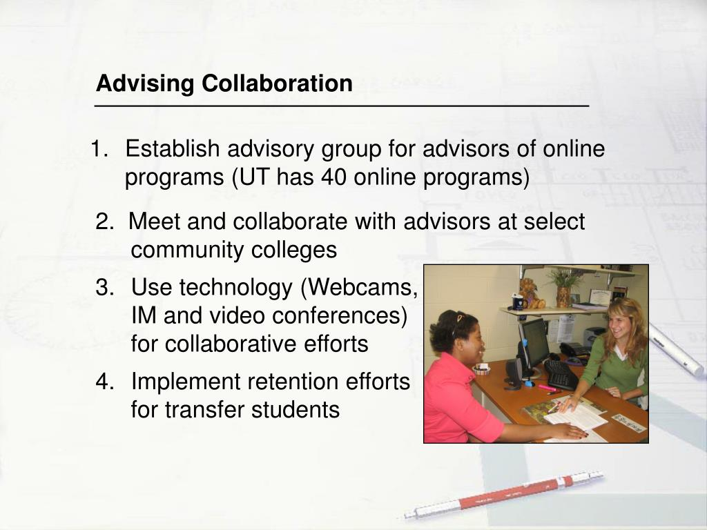 Advising Collaboration