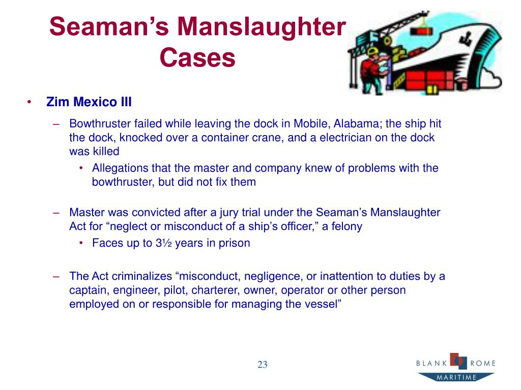 Seaman's Manslaughter