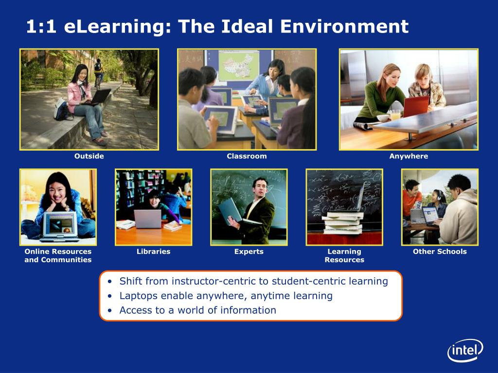1:1 eLearning: The Ideal Environment