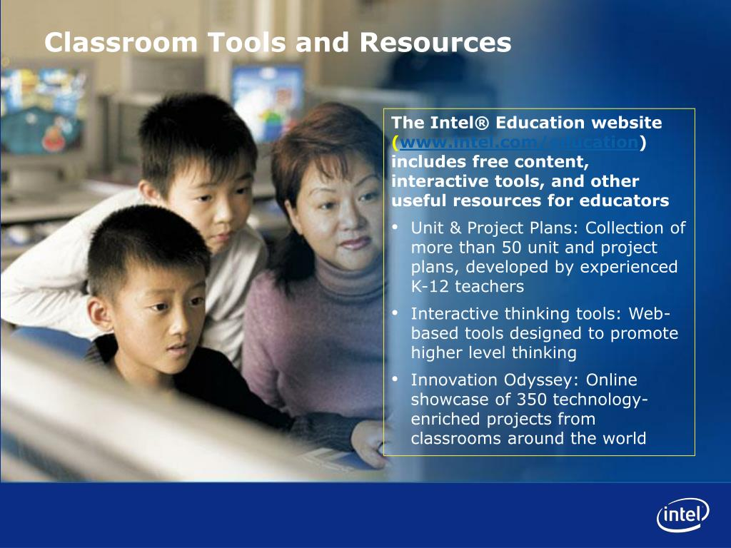 The Intel® Education website