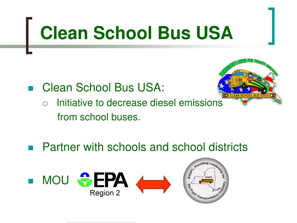 Clean School Bus USA