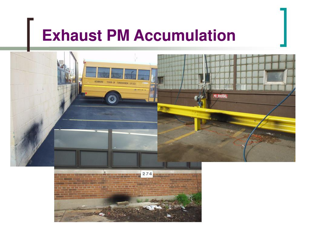 Exhaust PM Accumulation