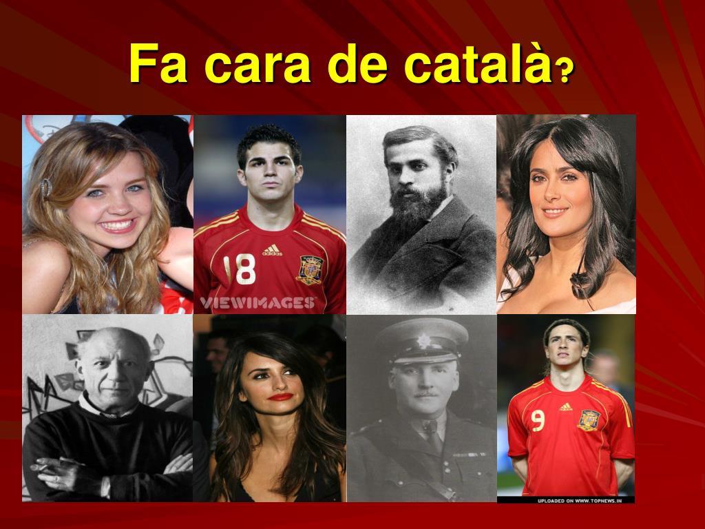 Fa cara de català