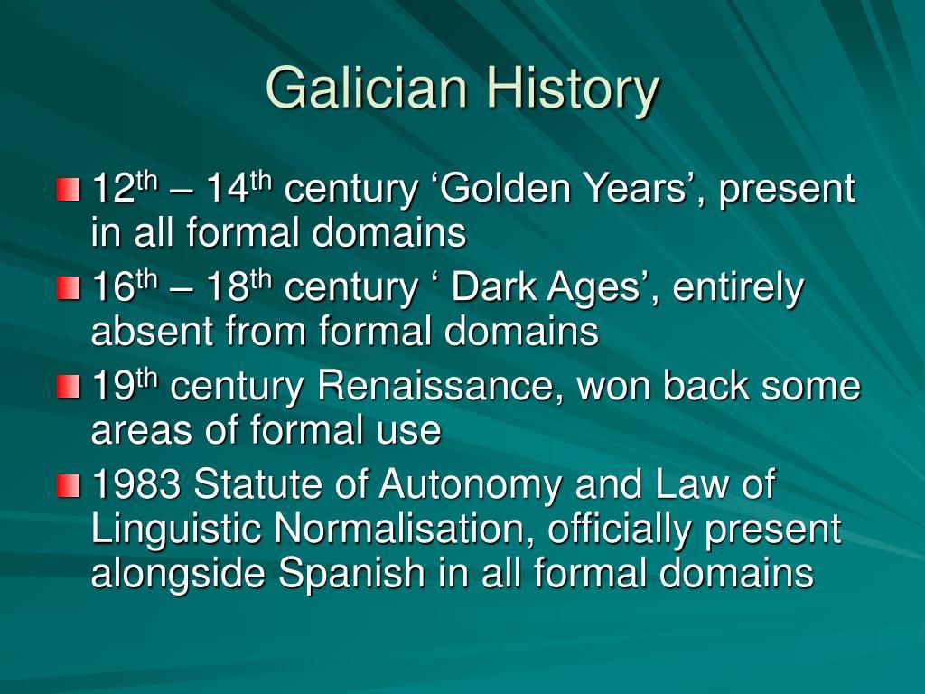 Galician History
