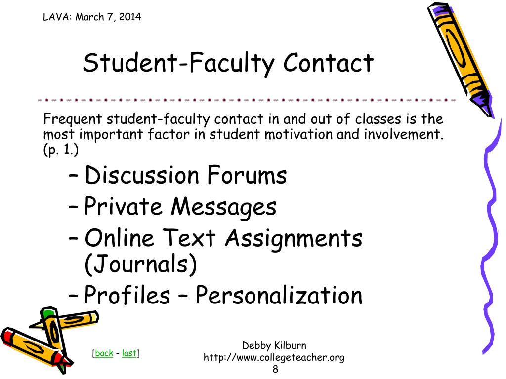Student-Faculty Contact