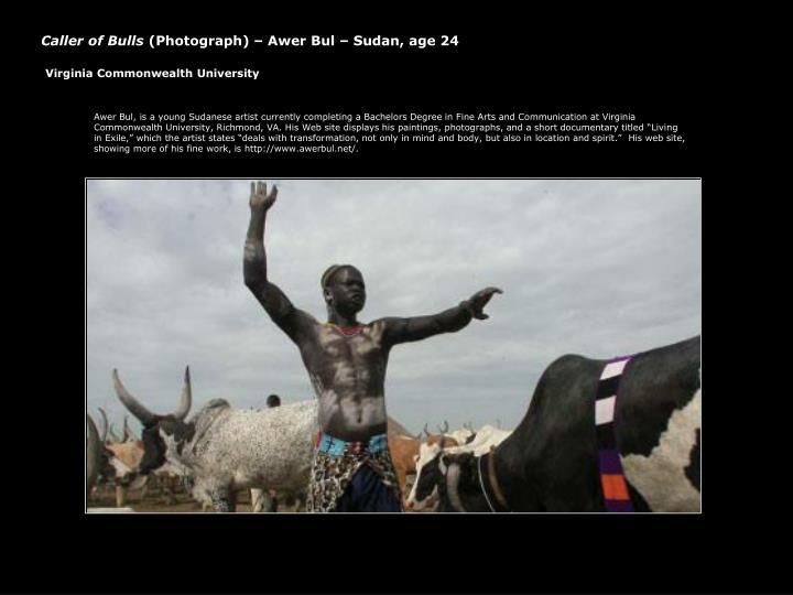 Caller of Bulls