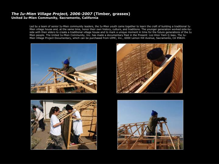 The Iu-Mien Village Project, 2006-2007