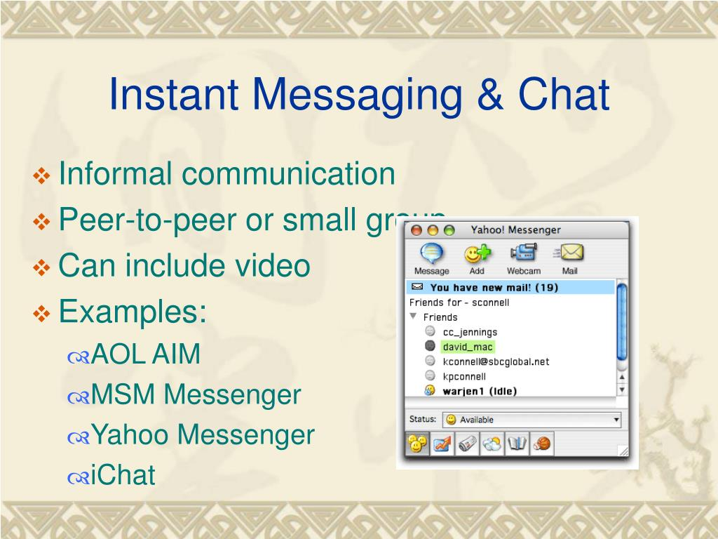 Instant Messaging & Chat