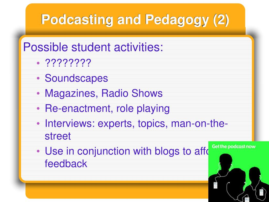 Podcasting and Pedagogy (2)