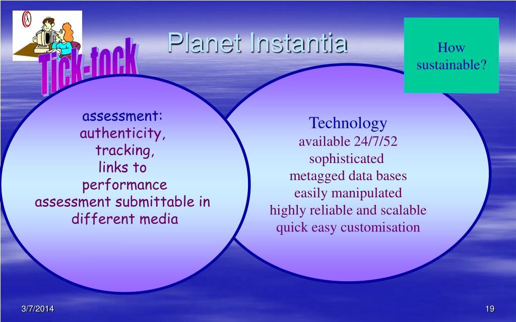 Planet Instantia
