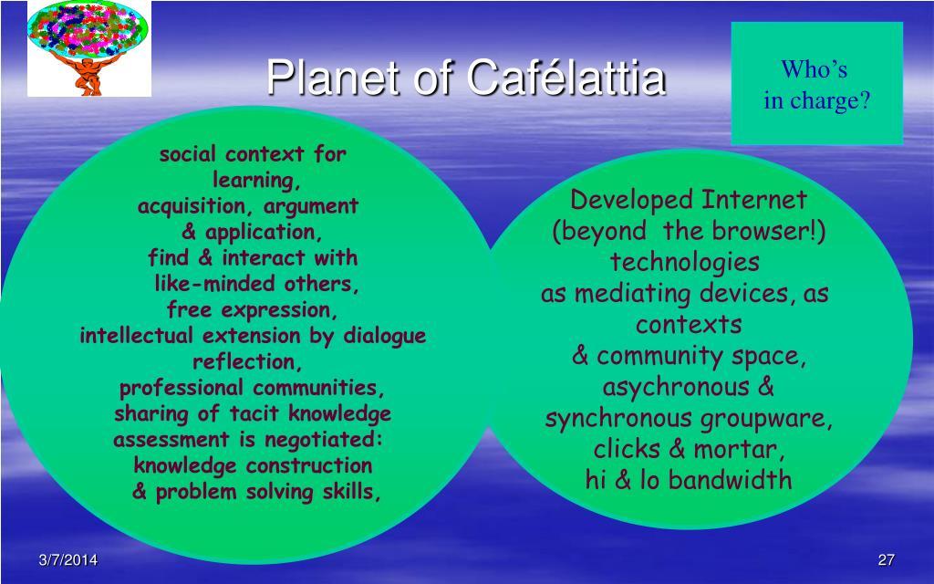 Planet of Cafélattia