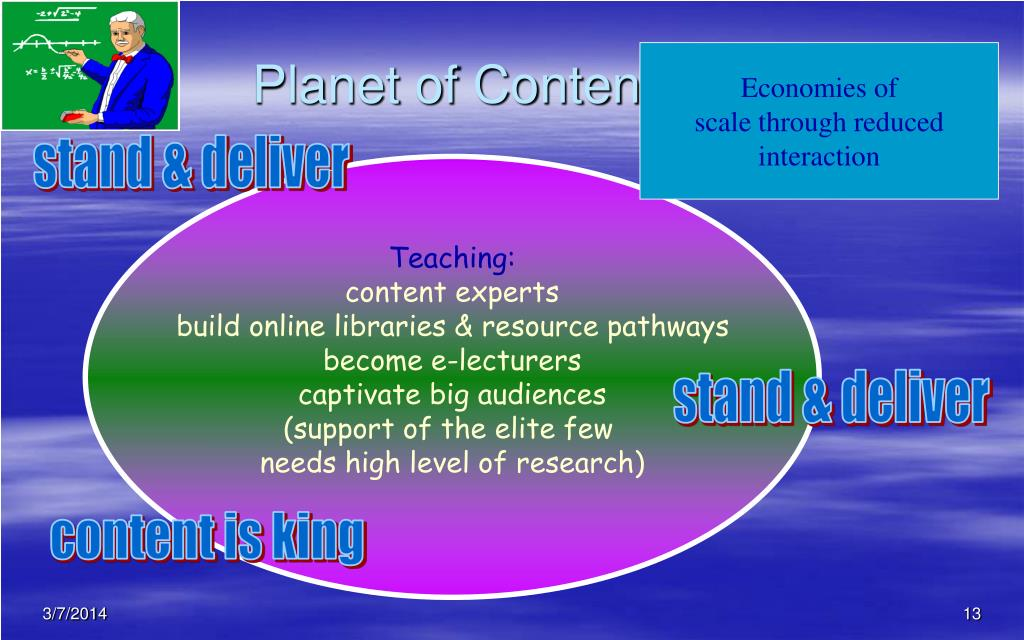 Planet of Contenteous