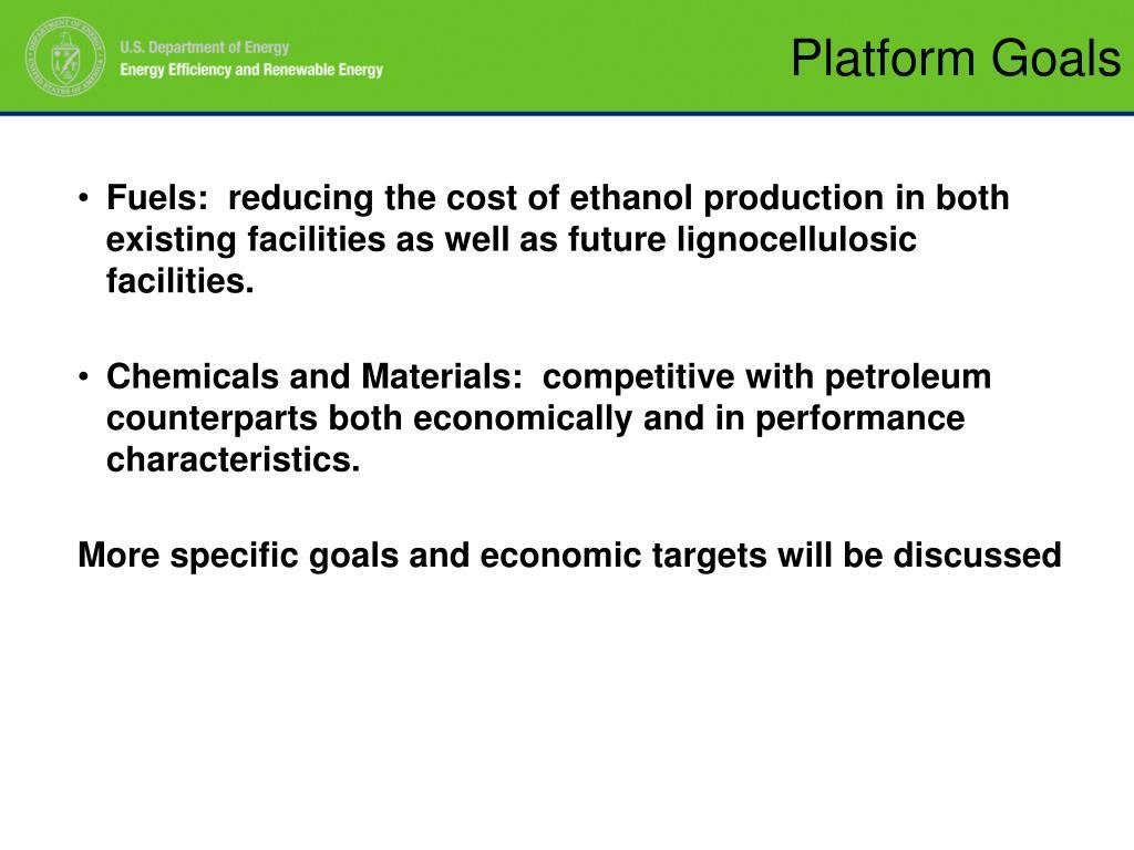 Platform Goals