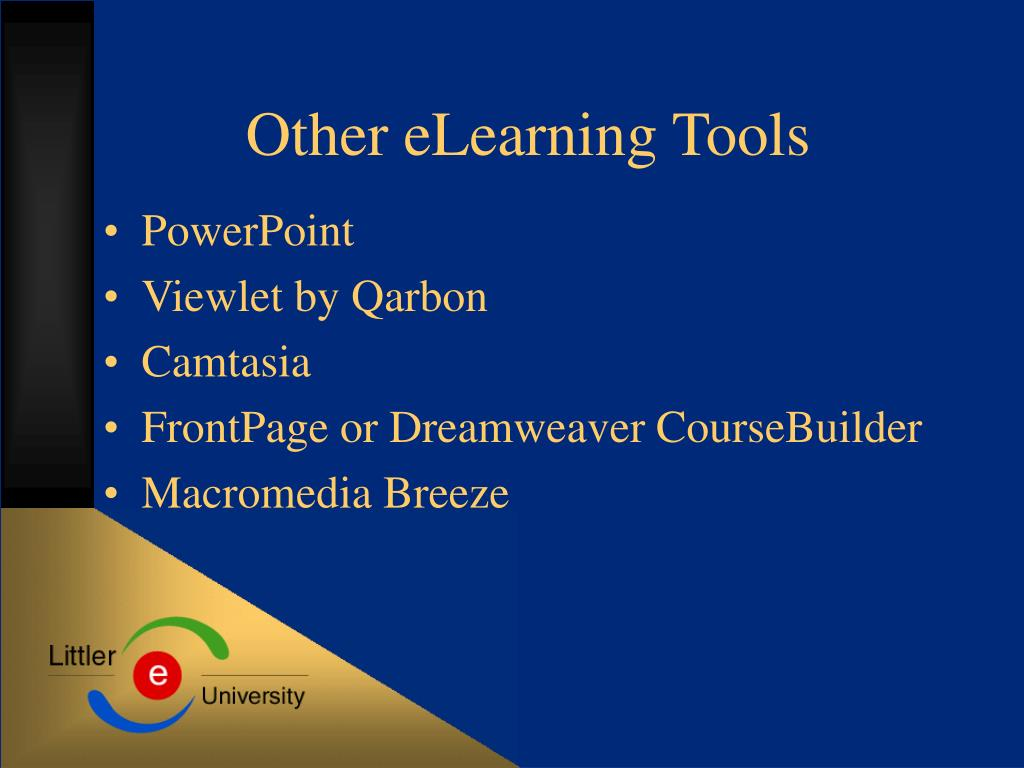 Other eLearning Tools