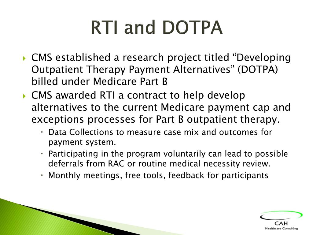 RTI and DOTPA