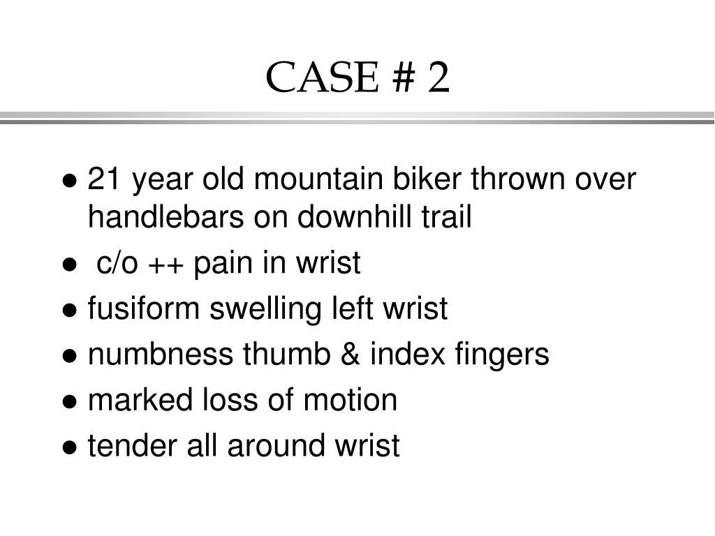 CASE # 2