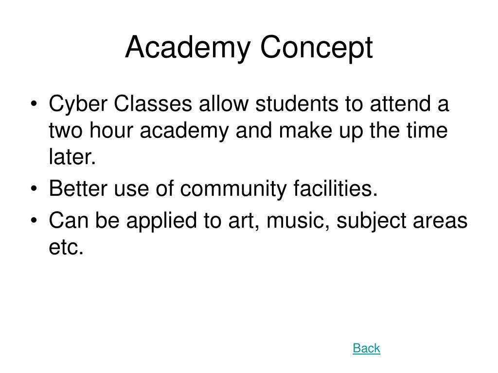 Academy Concept