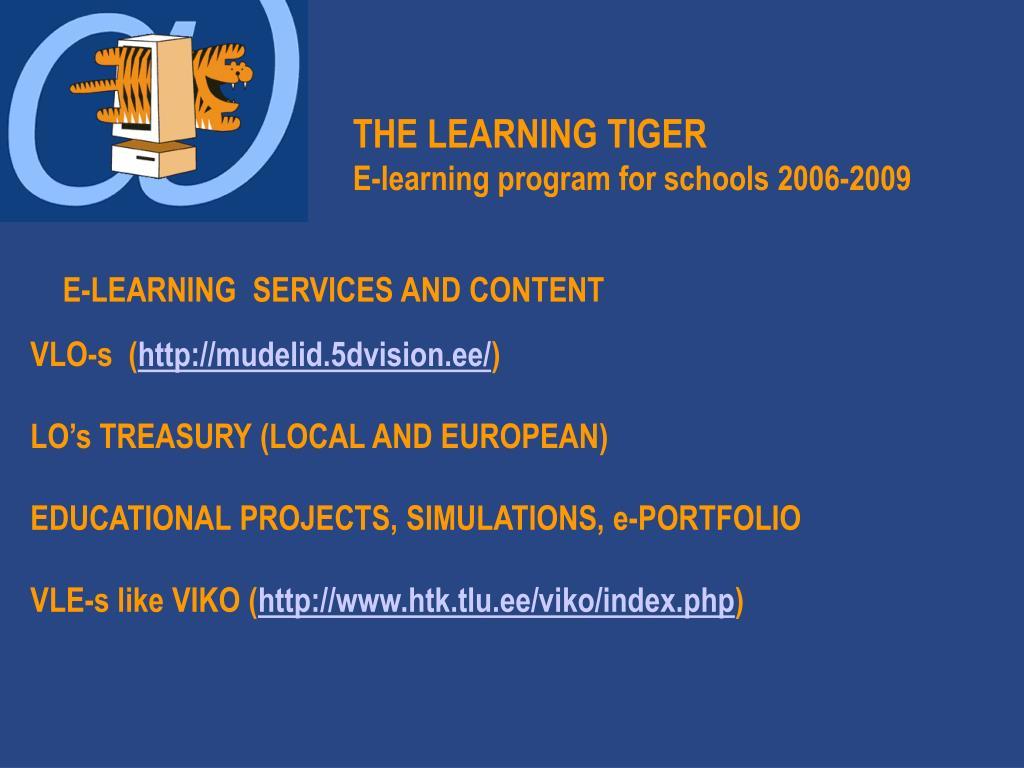 THE LEARNING TIGER